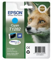 Epson T1282 DuraBrite Ultra Fox Standard Capacity Cyan Ink Cartridge
