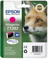 Epson T1283 DuraBrite Ultra Fox Standard Capacity Magenta Ink Cartridge