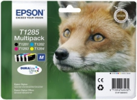 Epson T1285 DuraBrite Ultra Fox Standard Capacity Multi Pack BK/C/M/Y Ink Cartridges