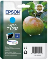 Epson T1292 DuraBrite Ultra Apple High Capacity Cyan Ink Cartridge