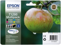 Epson T1295 DuraBrite Ultra Apple High Capacity Multi Pack BK/C/M/Y Ink Cartridges