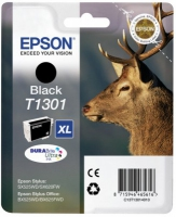 Black Epson T1301 Ink Cartridge C13T13014012 Printer Cartridge