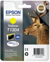 Epson T1304 DuraBrite Ultra Stag XL Extra High Capacity Yellow Ink Cartridge