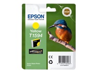 Epson T1594 Kingfisher UltraChrome Hi-Gloss2 Yellow Ink Cartridge