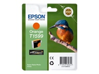 Epson T1599 Kingfisher UltraChrome Hi-Gloss2 Orange Ink Cartridge