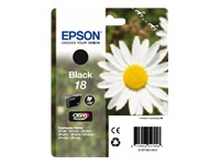 Epson T1801 Daisy Claria - Epson 18 Black Ink Cartridge