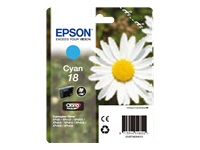 Epson Daisy 18 Claria T1802 Cyan Ink Cartridge