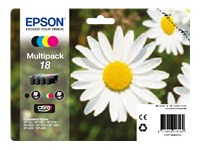 Epson Daisy 18 Quad Pack T1806 (BK/C/M/Y) Claria Ink Cartridges