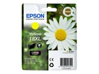 Yellow Epson 18XL Ink Cartridge (T1814) Printer Cartridge