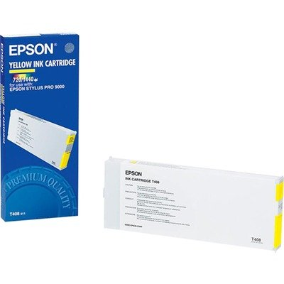 Epson T408 Yellow Ink Cartridge C13T408011