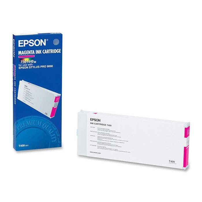 Epson T409 Magenta Ink Cartridge C13T409011