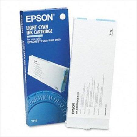 Epson T412 Light Cyan Ink Cartridge C13T412011