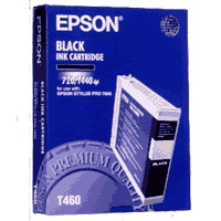 Black Epson T460 Ink Cartridge (C13T460011) Printer Cartridge