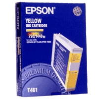 Yellow Epson T461 Ink Cartridge (C13T461011) Printer Cartridge