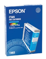 Epson T463 Cyan Ink Cartridge C13T463011