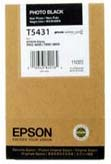 Epson T5431 UltraChrome Photo Black Ink Cartridge C13T543100, 110ml