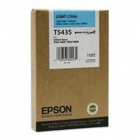 Epson T5435 UltraChrome Light Cyan Ink Cartridge C13T543500, 110ml