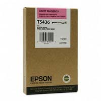 Epson T5437 UltraChrome Light Black Ink Cartridge C13T543700, 110ml