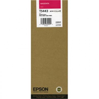 Epson T5443 UltraChrome Magenta Ink Cartridge C13T544300, 220ml