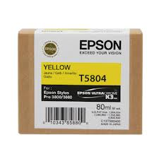 Epson T5804 Yellow Ink Cartridge C13T580400