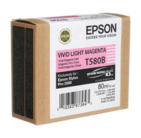 Epson T5806 Light Magenta Ink Cartridge C13T580600