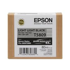 Epson T5809 Light Light Black Ink Cartridge C13T580900