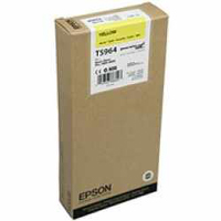 Epson T5964 Yellow Ink Cartridge C13T596400, 350ml