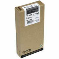 Epson T5969 Light Light Black Ink Cartridge C13T596900, 350ml