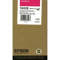 Epson T602B Magenta UltraChrome K3 Ink Cartridge C13T602B00, 110ml