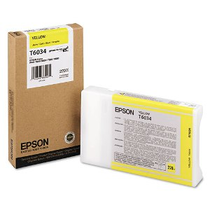 Yellow Epson T6034 Ink Cartridge (C13T603400 Printer Cartridge)