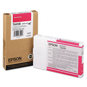 Magenta Epson T605B Ink Cartridge (C13T605B00 Printer Cartridge)