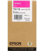 Magenta Epson T6113 Ink Cartridge (C13T611300 Printer Cartridge)