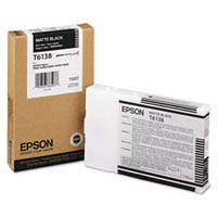 Matte Black Epson T6138 Ink Cartridge (C13T613800 Printer Cartridge)