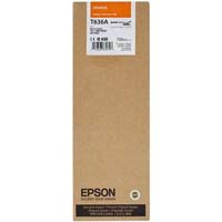 Epson T636A Orange Ink Cartridge C13T636A00, 700ml