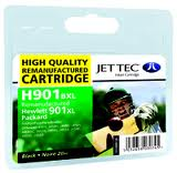 Replacement Black Ink Cartridge (Alternative to HP No 901XL, CC654AE)