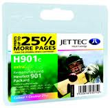 Replacement Colour Ink Cartridge (Alternative to HP No 901C, CC656A )