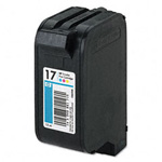 HP 17 Colour Ink Cartridge White Pack