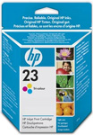 HP 23 Standard Capacity Tri Colour Ink Cartridge - C1823G