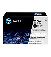 HP High Capacity No 09X Laser Cartridge