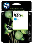 HP 940XL High Capacity Cyan Ink Cartridge - C4907A