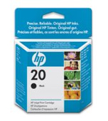 HP 20 Standard Capacity Black Ink Cartridge