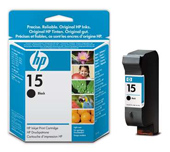 HP 15 Standard Capacity Black Ink Cartridge