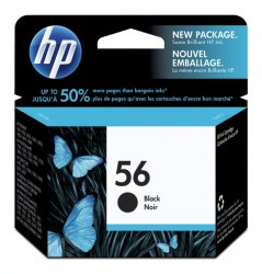 HP 56 Small Black Ink Cartridge (4.5ml)