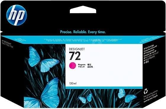 HP 72 High Capacity Magenta Ink Cartridge, 130ml