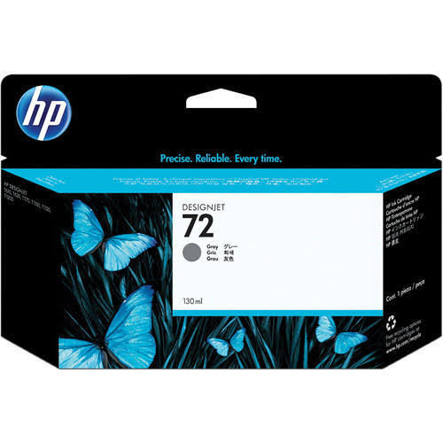 HP 72 High Capacity Grey Ink Cartridge, 130ml