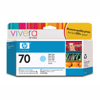 HP 70 Light Cyan Ink Cartridge