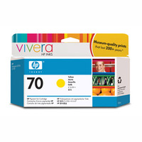 HP 70 Yellow Ink Cartridge