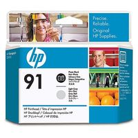 HP 91 Photo Black and Light Grey Printhead
