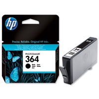 HP 364 Standard Capacity Black Ink Cartridge - CB316E