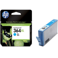 HP 364XL Extra Large Capacity Cyan Ink Cartridge - CB323E